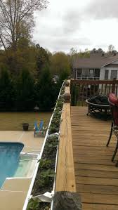 25+ Beautiful Deck Railing Planters Ideas On Pinterest   Railing ... 24m Decking Handrail Nationwide Delivery 25 Best Powder Coated Metal Fencing Images On Pinterest Wrought Iron Handrails How High Is A Bar Top The Best Bars With View Time Out Sky Awesome Cantilevered Deck And Nautical Railing House Home Interior Stair Railing Or Other Kitchen Modern Garden Ideas Deck Design To Get The Railings Archives Page 6 Of 7 East Coast Fence Exterior Products I Love Balcony Viva Selfwatering Planter Attractive Home Which Designs By Fencesus Also Face Mount Balcony Alinum Railings 4 Cityscape