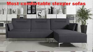 Handy Living Convert A Couch Sleeper Sofa by Most Comfortable Sleeper Sofas Youtube