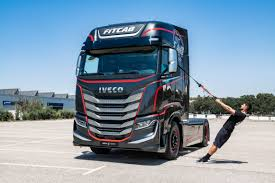 100 Iveco Truck S Fitnessfocused Truck Cabin Is More Like A Gym On Wheels