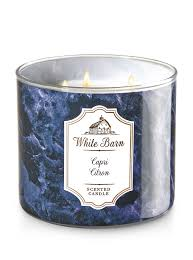 Capri Citron 3-Wick Candle - White Barn | Bath & Body Works Basil Sage Mint The Candle Barn Company Bath Body Works White Co Miami Grand Opening Perth Western Australia Facebook And Old Piece Of Beaten Barn Board Some Rusty Wire And An Primitive Antique Style Handmade Wood Lantern W Amazoncom Milkhouse Creamery Butter Jar Candice Holder Vase Phantastic Phinds Coconut Snowflake 3wick Pottery Homescent Redesign Packaging