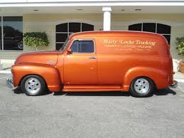 100 Panel Trucks 1954 CHEVROLET PANEL TRUCK 3100 Retro Custom Hot Rod Rods H