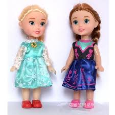 Toddler Elsa Anna Pvc Figure Dolls Princess Elsa Anna Baby Toy
