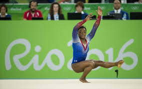 Simone Biles Floor Routine by Simone Biles Will Carry U S Flag At Closing Ceremony Chicago