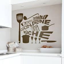 stickers muraux cuisine dans une cuisine ambiance zen et nature un