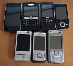 File Assorted smartphones Wikimedia mons