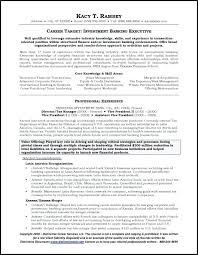 Investment Banking Executive Assistant Resume Example Sample Page 1