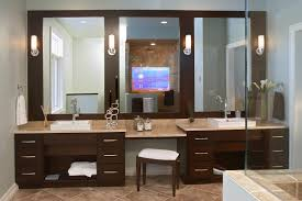 Single Sink Vanity With Makeup Table by Bathroom Vanities With Makeup Table Gallery Design Picture
