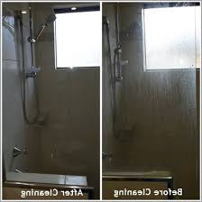 how to clean glass shower doors with vinegar and 盪 luxury how