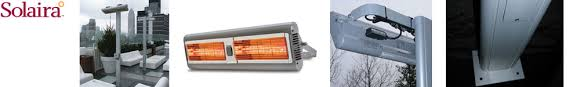 Solaira Patio Heaters by Solaira Alpha 32 In Electric Patio Heater 4000 Watt 240 Volt With