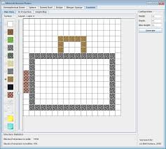 Minecraft House Floor Designs by Minecraft Structure Planner Application Minecraft Tools