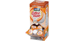 Use Coupon NESTLE COFFEE MATE Coffee Creamer Vanilla Caramel Liquid Singles 50 Count