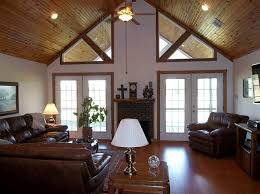 Paint Colors Living Room Vaulted Ceiling by Vaulted Ceiling Living Room Paint Color Square Glass Table Beige