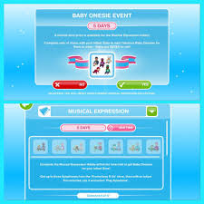Sims Freeplay Halloween Update by Baby Onesie Event In The Sims Freeplay The Sims Free Play