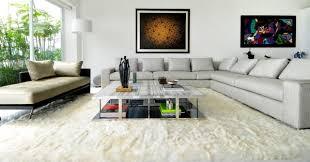 handgefertigte teppiche aus seidenweichem alpakafell a