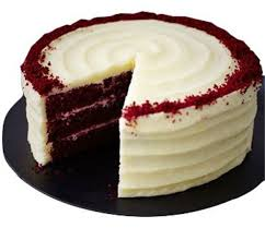RED VELVET CAKE WITH RUSTIC LOOK
