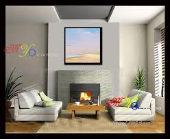Simple Scenery Paintings Famous Abstract Canvas Art Oil Framed Painting GZ 200
