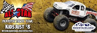 100 Kids Monster Trucks Maverik Center Details