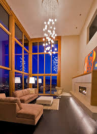 Chandelier For High Ceiling Family Room Dining Wingsberthouse