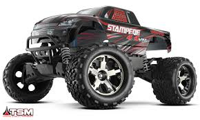 100 Monster Truck Power Wheels Traxxas Stampede 4x4 VXL Brushless RTR WTQi 24Ghz ID
