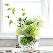 Silk Flowers Glass Bottle Vase 4 5 1410 Psh Vases Small Bud 5in Case