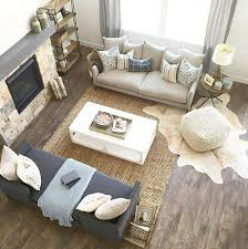 Comfy Farmhouse Living Room Designs To Steal Layered Rugs Is A Great Idea Mix And Match Patterns Materials