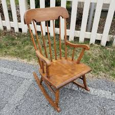 Tell City Solid Hard Rock Maple Andover Vintage Child's Rocking ... Fniture Catch Release Jackson Hole Indoor Wooden Rocking Chairs Cracker Barrel 64 Off Antique Caribbean Striped Upholstery Wood Rocker Chair Transparent Png Stickpng Top 10 Of 2017 Video Review Whats It Worth Gooseneck Rocker Spinet Desk Home And Gardens Auction Estate Antiques Charles Limbert Large Arm W4361 Sold Thonet Style Bentwood Rehab Vintage Interiors Late 19th Century Oak And Beech Childs Brand New Hauck Rocking Glider Nursing Chair Foot Stool Antique