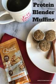 Easy Protein Blender Muffins Breakfast Recipe