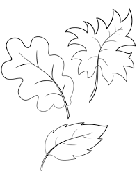 Click To See Printable Version Of Fall Autumn Leaves Coloring Page