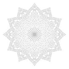 Mandala For Coloring Cool Coloring Pages For Adults