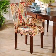 Dining Room Maybe Ikat Parsons Chair