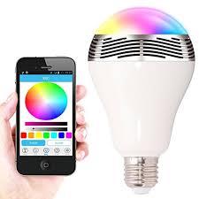 2015 new e27 3w wireless bluetooth 40 smart led light bulb