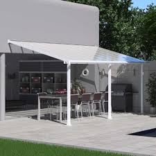 Palram Feria Patio Cover Uk by Palram Olympia Patio Cover 3m White Garden Street