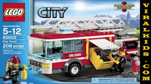 LEGO City - Fire Truck 60002 - Toys Review - Video Dailymotion Action Town 1467 Airport Fire Truck Lego Itructions 60061 City Onetwobrick11 Set Database 4208 Fire Truck 60111 Utility Mixed By Amazonca Shodans Blog Creating My First Big Display Part 1 Brktasticblog An 2014 Stop Motion Youtube Toysrus City Airport Fire Truck 7891 Lego 60002 And