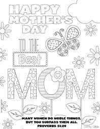 20 Beautiful Free Mothers Day Printables Coloring PagesSpring