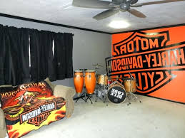 Harley Davidson Bedroom Man Cave Items Home Decor Road Glide In Painting Ideas