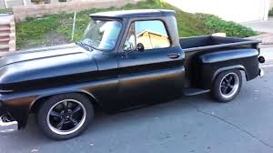 1964 Chevy Truck Custom Build C10 1/2 Ton - YouTube