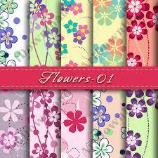 Paper Flower Scrapbook
