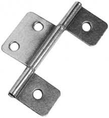 Non Mortise Cabinet Door Hinges by Awesome Three Leaf Flag Hinge 3 12 Satin Nickel Bi Fold Door Non