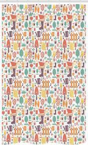 abakuhaus duschvorhang badezimmer deko set aus stoff mit haken breite 120 cm höhe 180 cm garten botanik ausrüstung muster kaufen otto