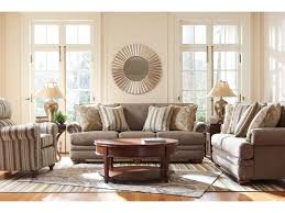 Bernhardt Foster Leather Sofa by La Z Boy Brennan Traditional Sofa With Comfort Core Cushions And