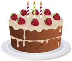 Birthday Cake Transparent PNG Clip Art Image