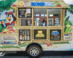 Couple's Cross-country Move Lands Them In Roseville Shaved Ice Truck ... Kona Ice Truck Stock Photo 309891690 Alamy Breaking Into The Snow Cone Business Local Cumberlinkcom Cajun Sisters Pinterest Island Flavor Of Sw Clovis Serves Up Shaved Ice At Local Allentown Area Getting Its Own Knersville Food Trucks In Nc A Fathers Bad Experience Cream Led Him To Start One Shaved In Austin Tx Hanfordsentinelcom Town Talk Sign Warmer Weather Is On Way Chain