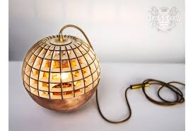 Laser Cut Lamp Shade by Laser Cutting Lighting Product Made From Plywood By Massow