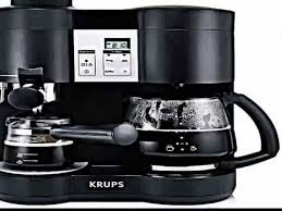 The KRUPS XP160050 Steam Espresso And Coffee Machine Review