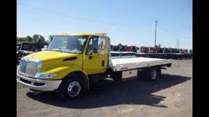 Medium Duty Rollback Tow Truck For Sale In New York - YouTube