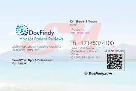 Dr Steve S Yoon DPM Podiatry in Garden Grove CA california