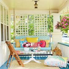 Better Homes And Gardens Patio Swing Cushions by Porch Design Ideas Better Homes And Gardens Bhg Com