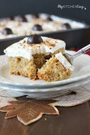 Cake Mix And Pumpkin by Spiced Pumpkin Poke Cake My Kitchen Craze