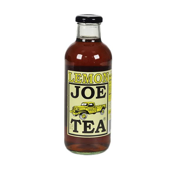 Joe Tea Lemon Tea - 20 fl oz bottle