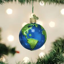 Planet Earth Ornament Old World Christmas